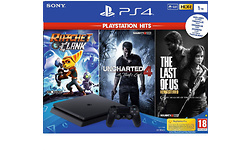 Sony PlayStation 4 Slim 1TB Black + 3 Games