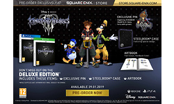 Kingdom Hearts III Deluxe Edition Playstation 4