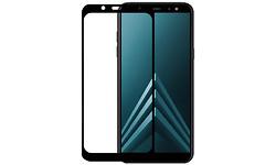 Azuri Tempered Glass Flat Rinox Armor Frame Galaxy A6 2018 Black