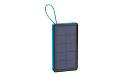 XLayer Powerbank Plus Solar 10000 Black/Blue