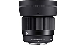 Sigma 56mm f/1.4 DC DN Contemporary E-mount