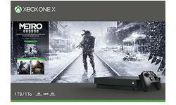 Microsoft Xbox One X 1TB Black Metro Saga