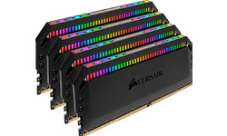 Corsair Dominator Platinum RGB 64GB DDR4-3600 CL18 quad kit