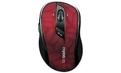 Rapoo M500 Silent Multi-Mode Red