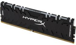 Kingston HyperX Predator RGB Black 64GB DDR4-3000 CL15 quad kit