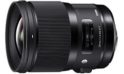 Sigma 28mm f/1.4 DG HSM Art Canon EF Black