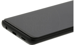 Azuri Curved Samsung Galaxy S9 Screenprotector Glass Black