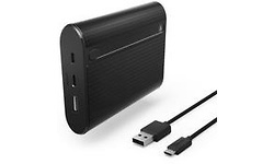 Hama Powerbank X10 USB-C 10400 Black