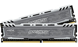 Crucial Ballistix Sport LT 16GB DDR4-3000 CL15 kit Grey