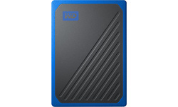 Western Digital My Passport Go 500GB Black/Blue