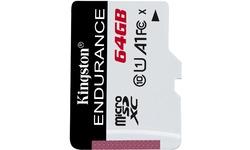 Kingston High Endurance MicroSDXC UHS-I 64GB