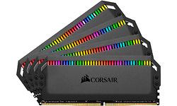 Corsair Dominator Platinum RGB 64GB DDR4-3200 CL16 quad kit