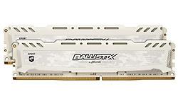 Crucial Ballistix Sport LT White 16GB DDR4-2400 CL16 kit (BLS2K8G4D240FSCK)