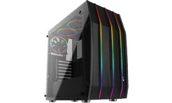 Aerocool Klaw G-V1 RGB Window Black