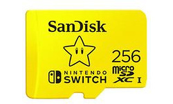 Sandisk MicroSDXC UHS-I 256GB Nintendo Switch