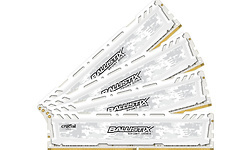 Crucial Ballistix Sport LT White 64GB DDR4-3200 CL16 quad kit