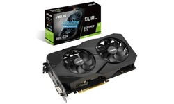 Asus GeForce GTX 1660 Ti Dual Evo 6GB