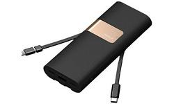 iWalk Secretary+ Powerbank 20.000 Quick Charge 3.0 Black