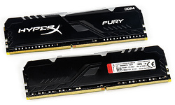 Kingston HyperX Fury RGB Black 16GB DDR4-3200 CL16 kit