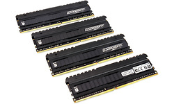 Crucial Ballistix Elite 32GB DDR4-4000 CL18 quad kit