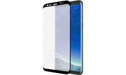 Azuri Screenprotector Curved Tempered Glass Rinox Armor Black For Samsung S8 Plus