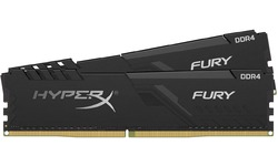 Kingston HyperX Fury Black 8GB DDR4-2400 CL15 kit