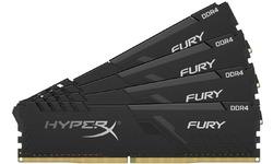 Kingston HyperX Fury Black 16GB DDR4-2400 CL15 quad kit