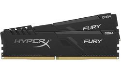 Kingston HyperX Fury Black 32GB DDR4-2666 CL16 kit