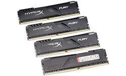 Kingston HyperX Fury Black 32GB DDR4-3200 CL16 quad kit