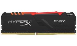 Kingston HyperX Fury RGB Black 8GB DDR4-2400 CL15