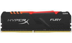 Kingston HyperX Fury RGB Black 16GB DDR4-2666 CL16