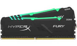 Kingston HyperX Fury RGB Black 16GB DDR4-3466 CL16 kit