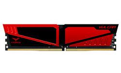 Team Vulcan Black/Red 16GB DDR4-2400 CL15