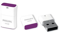 Philips FM64FD85B 64GB White/Purple