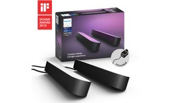 Philips Hue White & Color Ambiance Play Lightbar Black 2-pack