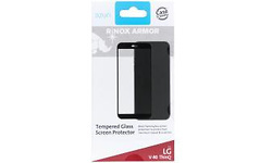 Azuri Tempered Glass Screenprotector LG V40 ThinQ Black