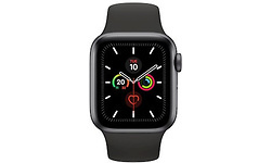 Apple Watch Series 5 40mm Space Grey Sport Band Space Grey