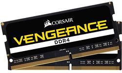 Corsair Vengeance Black 32GB DDR4-3000 CL18 kit Sodimm