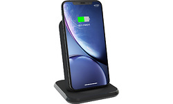 Zens Wireless Charger Stand 10W Aluminium Black