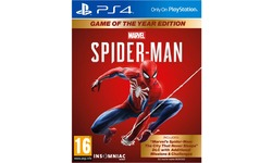 Spider-Man, Game of the Year Edition (PlayStation 4)