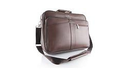 "Modecom Geneva 2 15.6"" Briefcase Brown"