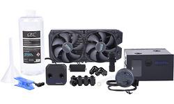 Alphacool Eissturm Blizzard Copper 45 2x120mm Complete Set