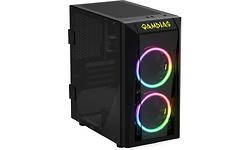 Gamdias Talos E1 RGB Window Black
