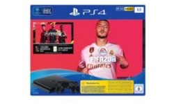 Sony PlayStation 4 Slim 1TB Black + Fifa 20 Bundle
