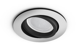 Philips Hue Centura Recessed Spot White & Colour Round aluminium