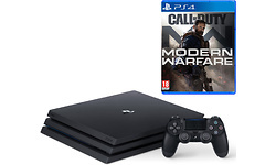 Sony PlayStation 4 Pro 1TB Black + Modern Warfare 2019