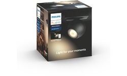 Philips Hue Buckram Spot Black + Dimmer