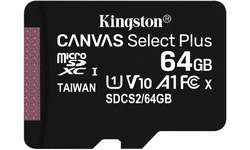 Kingston Canvas Select Plus MicroSDXC UHS-I 64GB + Adapter