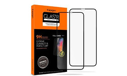 Spigen Full Cover Glass Apple iPhone 11 Pro Max Protector Black 2-pack