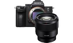 Sony A7 Mark III 85mm kit Black